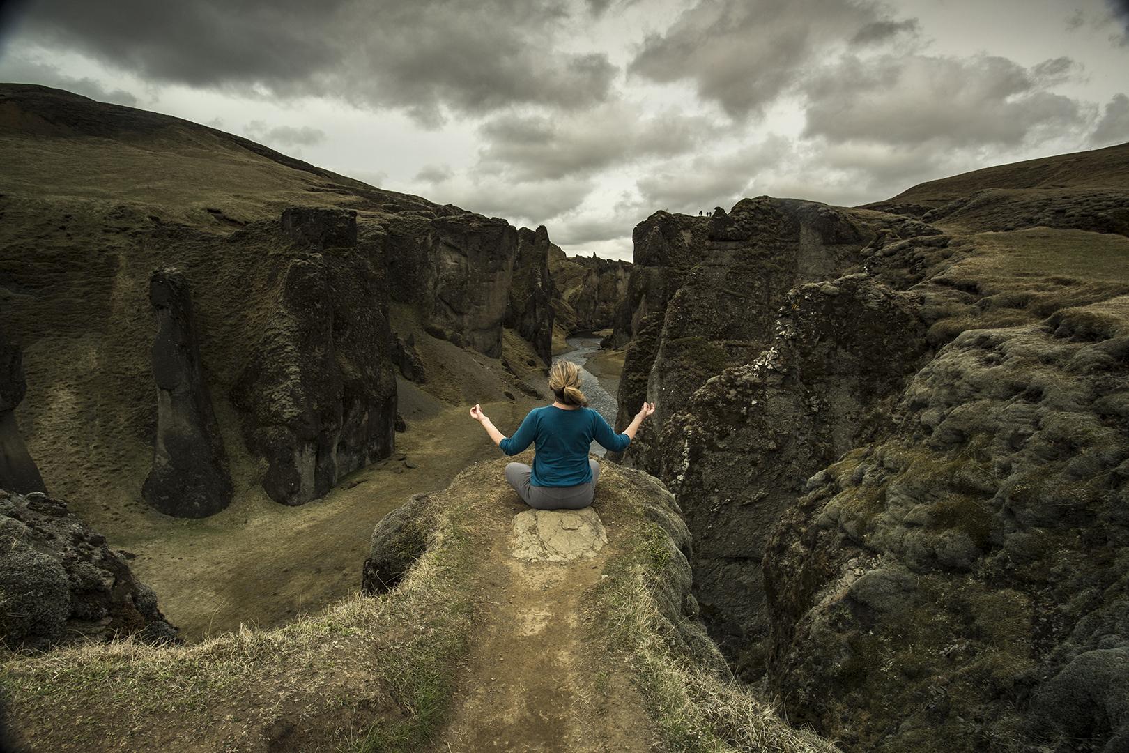 FJAORARGLJUFUR CANYON ICELAND