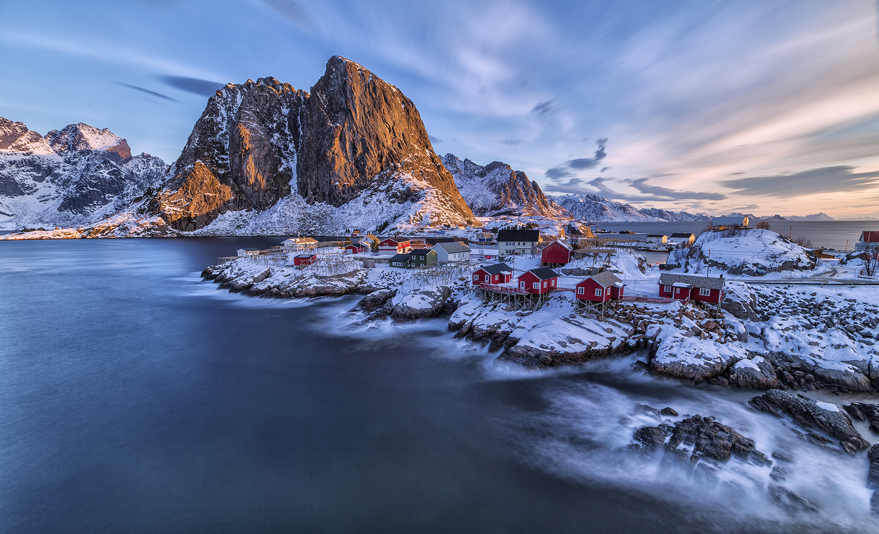 HAMNOY IN NORWAY